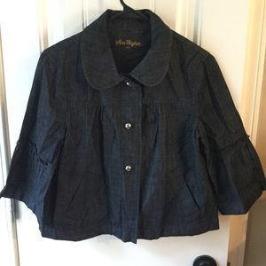 Ann Taylor Swing  Jean Jacket, size Small